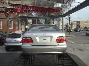 Mercedes CLK 320 2002, Picture 3